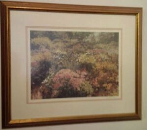 "Framed Print of ""Mr. Sach's Garden"" by Peter Etril Snyder"