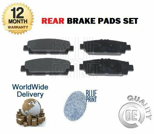FOR LEXUS LS400 4.0 TOYOTA CELSIOR IMPORT 1989-1992 NEW REAR BRAKE DISC PADS SET