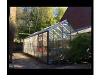 18ft Greenhouse fully dismantled free to collect