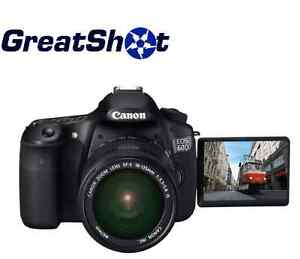 Canon EOS 60D Body Only Kit  NEW!