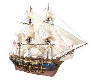 Occre HMS Bounty 1783 Cargo Ship 1:45 Scale Wood & Metal Model Kit 14006