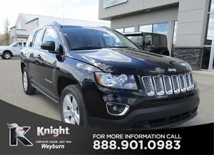 2016 Jeep Compass High Altitude Heated Leather Sunroof Low KMS
