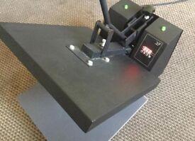 Heat press machine clamshell 38x38cm t shirt flat print