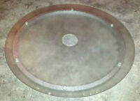 Patio Table Glass Rotating Lazy Susan **Great Shape**