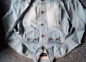 Denim jacket ladies size 16 £8 can post for extra cost