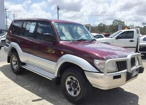 1996 Toyota Landcruiser Prado VZJ95R GXL AUTOMATIC 8 SEATS 5 Speed Automatic Wagon Underwood Logan Area Preview
