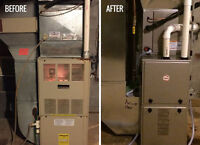 A/C,FURNACE,HUMIDIFIER,GAS PIPING,REDTAG REMOVAL & Etc.
