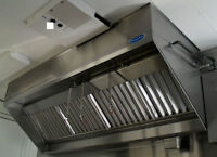 Hood-kitchen exhaust-restaurant cleaning ***Certified company***
