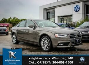 2014 Audi A4 Quattro AWD w/ Nav/Leather/Sunroof