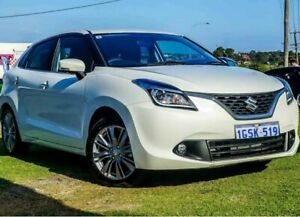 2017 Suzuki Baleno GLX Turbo White 6 Speed Automatic Hatchback Wangara Wanneroo Area Preview