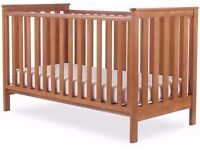 Mothercare cot bed and bed changing unit