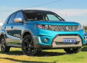 2018 Suzuki Vitara LY S Turbo (2WD) Blue 6 Speed Automatic Wagon Wangara Wanneroo Area Preview