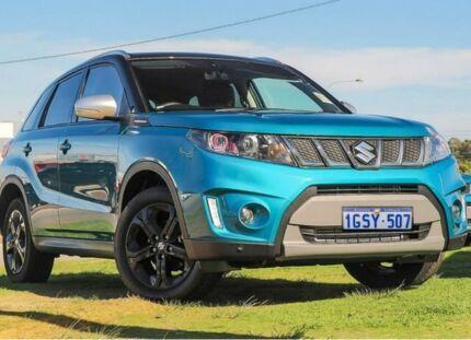 2018 Suzuki Vitara LY S Turbo 2WD Blue 6 Speed Sports Automatic Wagon Wangara Wanneroo Area Preview