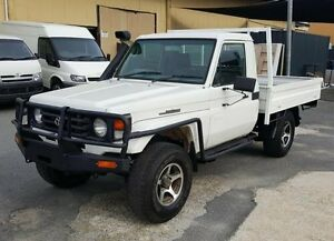 2000 Toyota Landcruiser HZJ79R (4x4) 5 Speed Manual 4x4 Cab Chassis Burleigh Heads Gold Coast South Preview