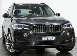 2014 BMW X5 F15 xDrive30d Grey 8 Speed Sports Automatic Wagon Rozelle Leichhardt Area Preview