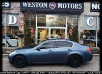 2008 Infiniti G35 AWD*SPORT PKG*LEATHER*BUY HERE-PAY HERE!