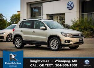 2012 Volkswagen Tiguan Comfortline AWD w/ Sunroof 0.99% Financin