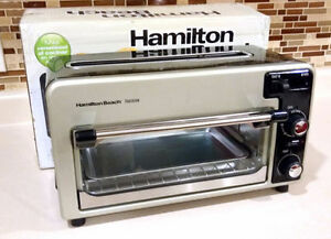 LIKE NEW Hamilton Beach Toastation 2 in 1 Toaster Oven