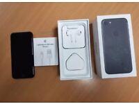 iPhone 7 EE - Virgin 32GB Jet Black Excellent Condition