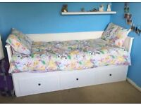 IKEA Hemnes Expandable Day bed with 3 drawers