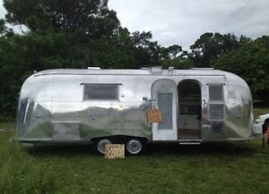 ISO Airstream trailer