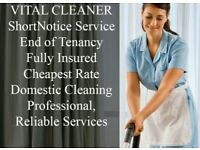 SHORT-NOTICE DOMESTIC CLEANING ✅AFFORDABLE END OF TENANCY⭐PROFESSIONAL 👍TOP QUALITY CLEANING SERVI