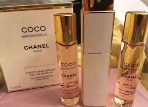 Authentic Coco Mademoiselle Chanel trio parfum