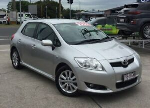 2009 Toyota Corolla ZRE152R Levin SX Silver 4 Speed Automatic Hatchback Currimundi Caloundra Area Preview