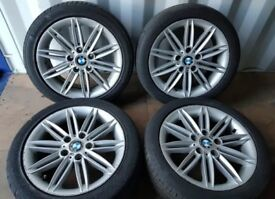 """Bmw 5x120 Alloys 17"""" Mint Tyres"""