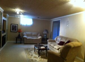 Modern sharing  Basement Suite available Immediately $575