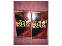 Maxell E240 VHS tapes (New sealed and unopened)