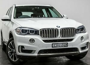 2013 BMW X5 E70 MY1112 xDrive30d Steptronic White 8 Speed Sports Automatic Wagon Rozelle Leichhardt Area Preview