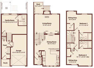 Executive Townhome & Garage - May 1st - South Red Deer