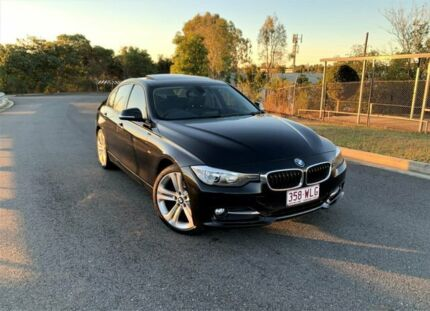 2012 BMW 3 Series F30 Black 8 Speed Sports Automatic Sedan Darra Brisbane South West Preview