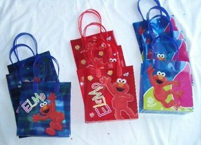 48 pcs SESAME STREET ELMO Party Favor Goody Gift Bag Child Birthday Supply Lot](Baby Elmo Party Supplies)