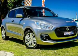 2017 Suzuki Swift AZ GL Premium Silver 1 Speed Constant Variable Hatchback Wangara Wanneroo Area Preview