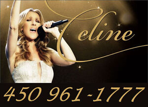 CÉLINE DION : SECTIONS BLANCHES !!!