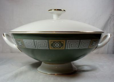 Wedgwood Asia Green Round Covered Vegetable Bowl Green Covered Vegetable Bowl