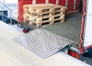 Hand pallet truck pump truck dock plates boards fork extension