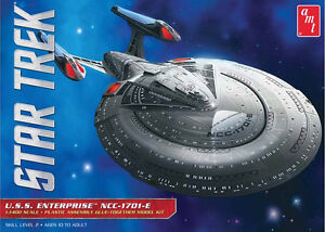 AMT 1/1400 USS Enterprise NCC-1701-E Plastic Model Kit 853 19