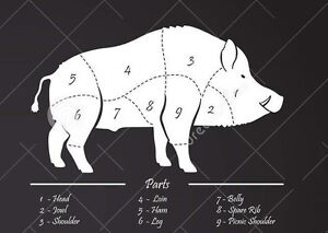 Wild Boar: Live or Killed whole animals, custom meat orders Kingston Kingston Area image 7