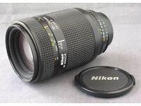 Nikon 70-210 f4-5.6D Telephoto lens
