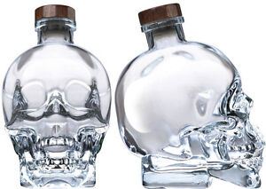 Looking for free empty crystal skull bottles