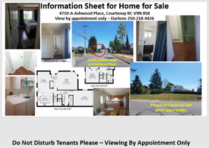Spacious Home for Sale by Owner - East Courtenay