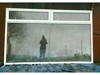 Large double glaze pvc window