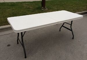 Rent Event Tables - for your Garage Sale @ Affordable Prices!