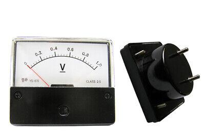 New Dc 0-1v Analog Votage Panel Meter