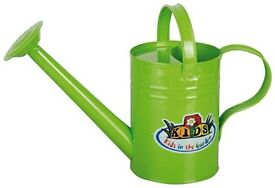 Children's Metal Watering Can **new unused**