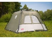 NEW FESTIVAL INSTANT TENT COLEMAN TOURER 4 BERTH IN BOX WITH INSTRUCTIONS