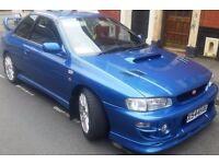 Genuine 2000 Subaru Impreza WRX STI PRODRIVE type RA 48000K, sonic blue 6 speed conversion, 1 owner